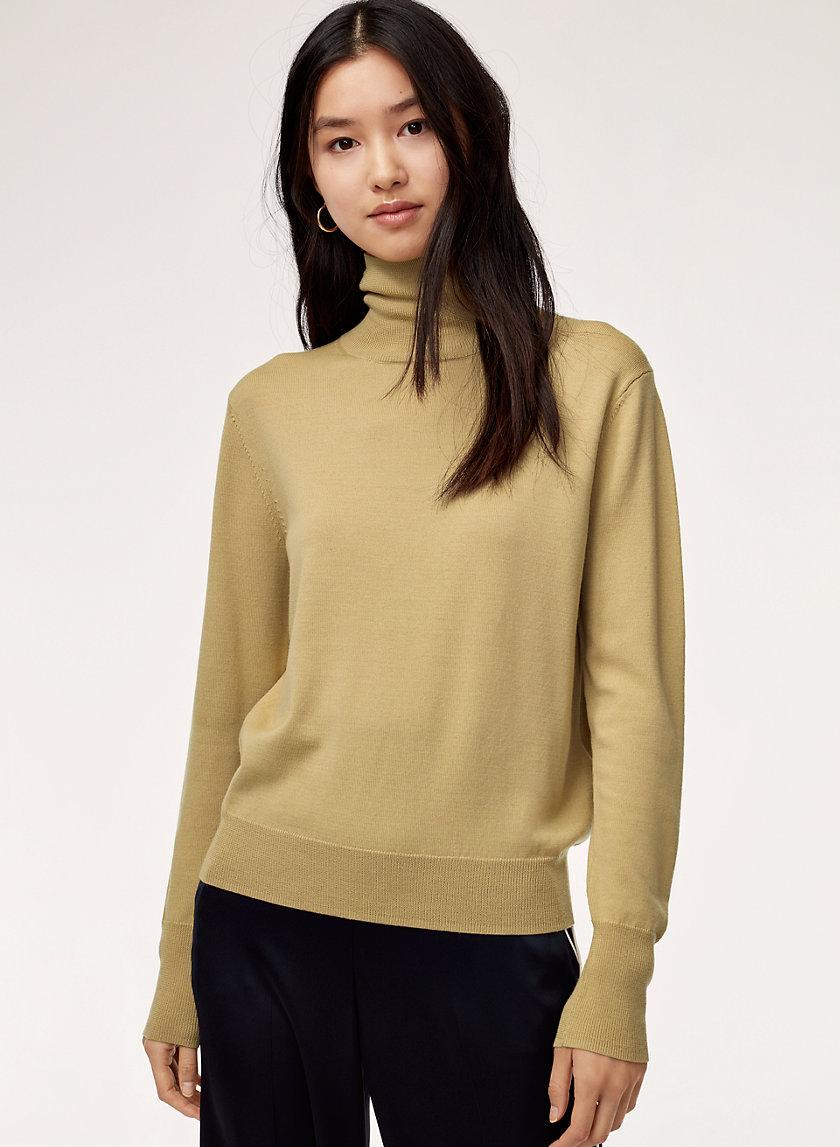 GARON TURTLENECK - Merino-wool turtleneck sweater