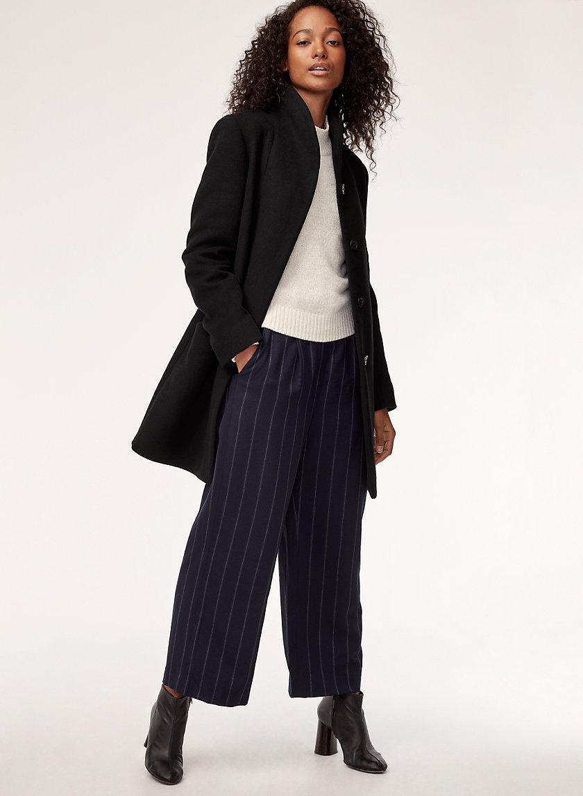 COCOON COAT - Virgin-wool and cashmere coat