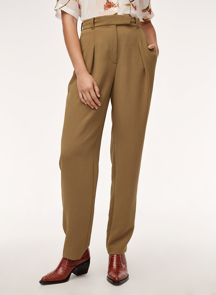 GABRIEL PANT - High-waisted dress pant