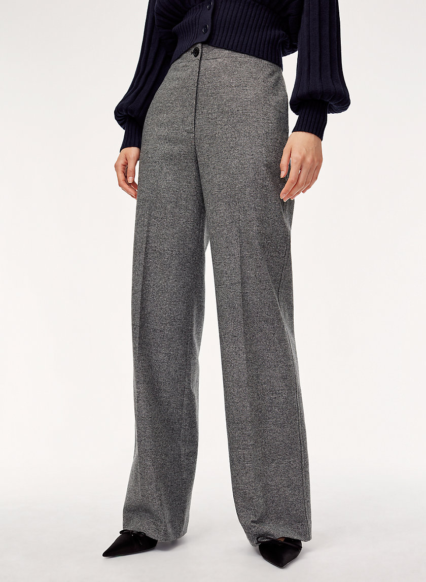 MADELON PANT - High-waisted, wide-leg pant