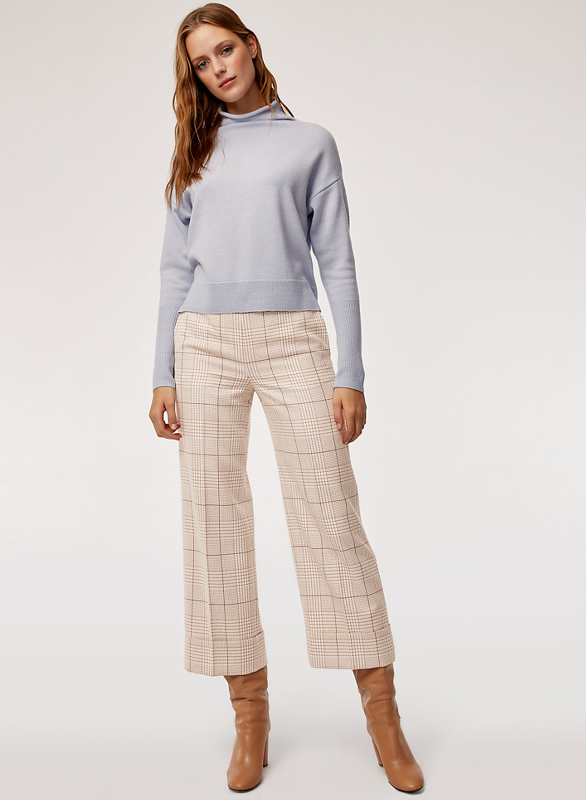 LUCILLE PANT - Plaid, utilitarian-inspired pant