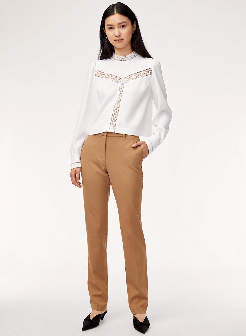 NADINE PANT - Straight-leg dress pant