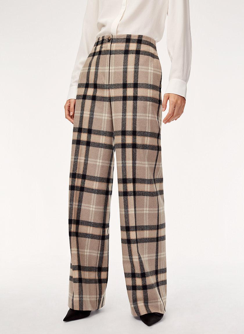 MADELON PANT - High-waisted, wide-leg pant