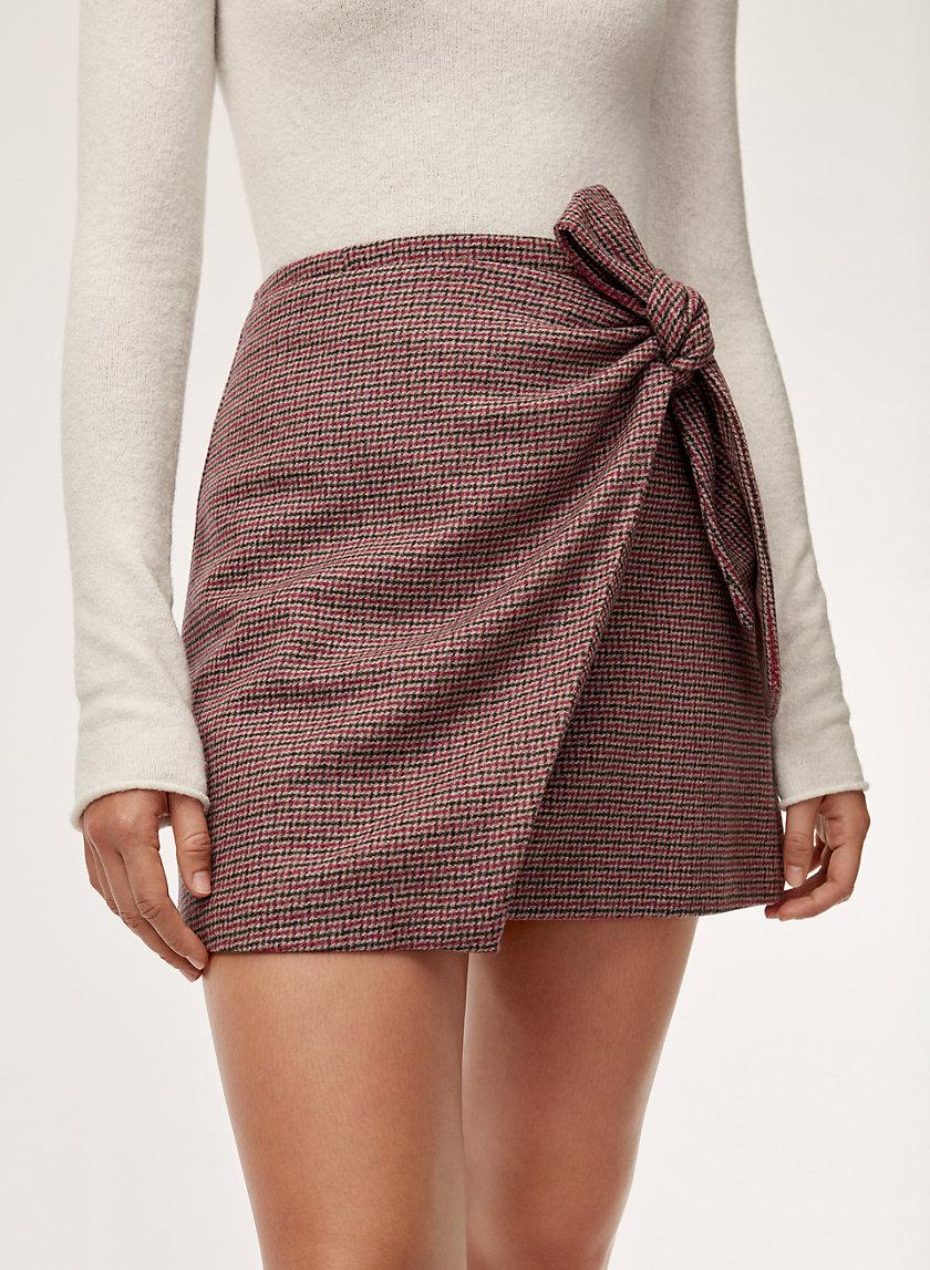 a3ed19c127 dorine skirt Faux-wrap mini skirt