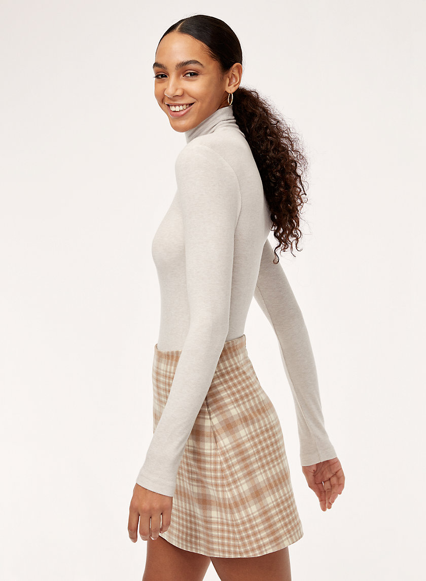 RENÉE SKIRT - Plaid, a-line mini skirt