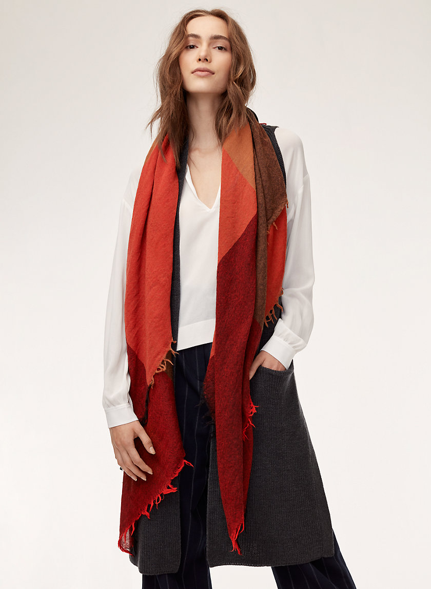 Wilfred COLOUR BLANKET SCARF | Aritzia