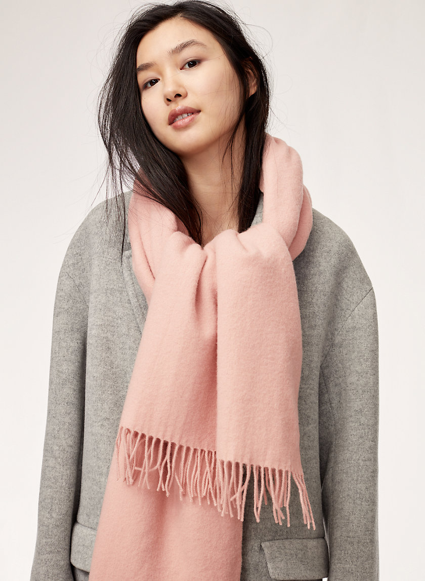 Wilfred THE CLASSIC WOOL SCARF | Aritzia