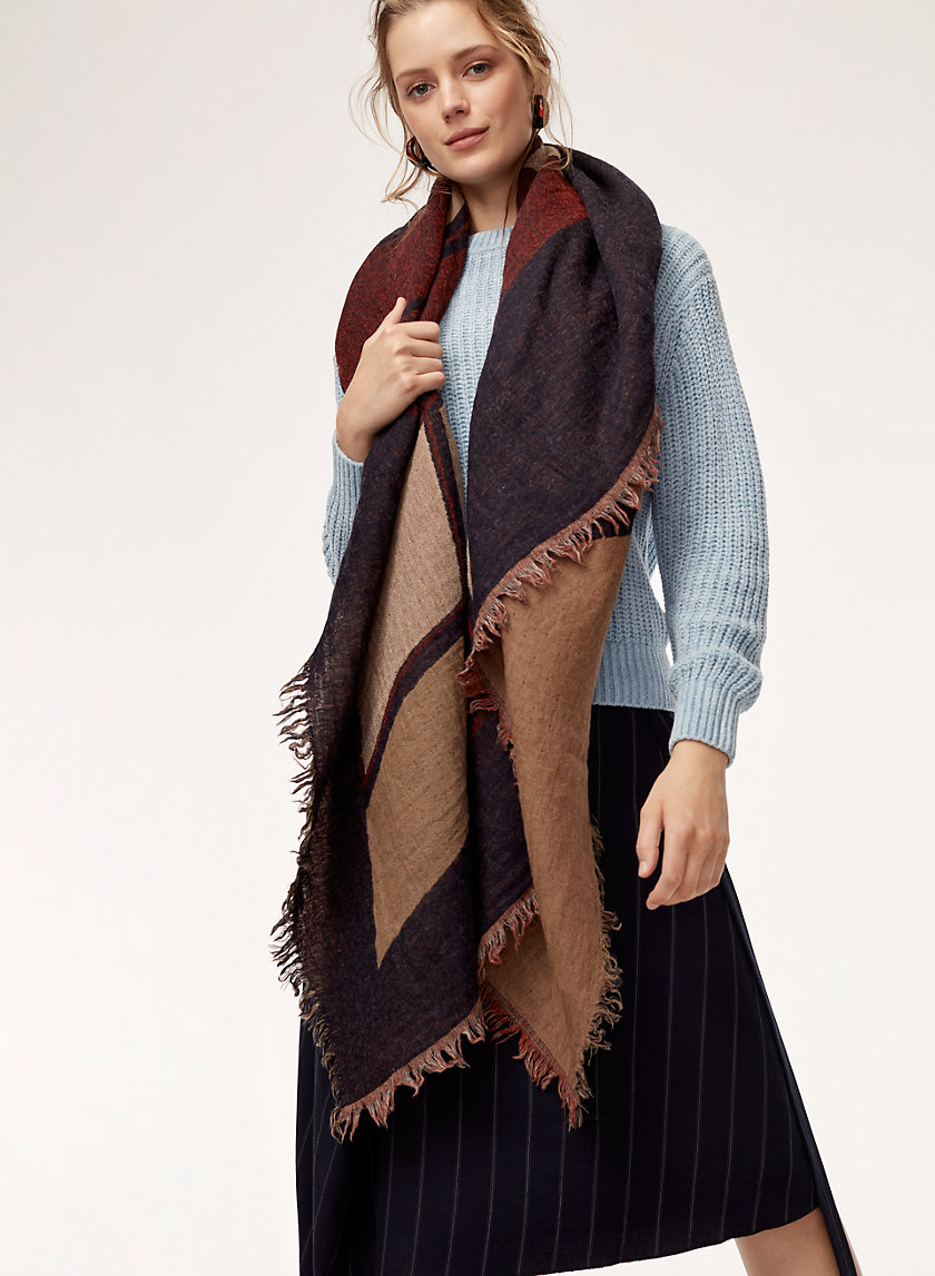 Wilfred WINDOW STUDY BLANKET | Aritzia
