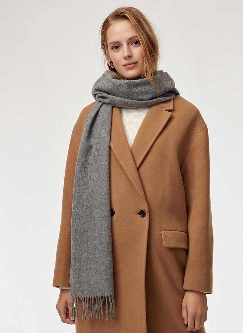 BANFF WOOL SCARF - Skinny wool scarf