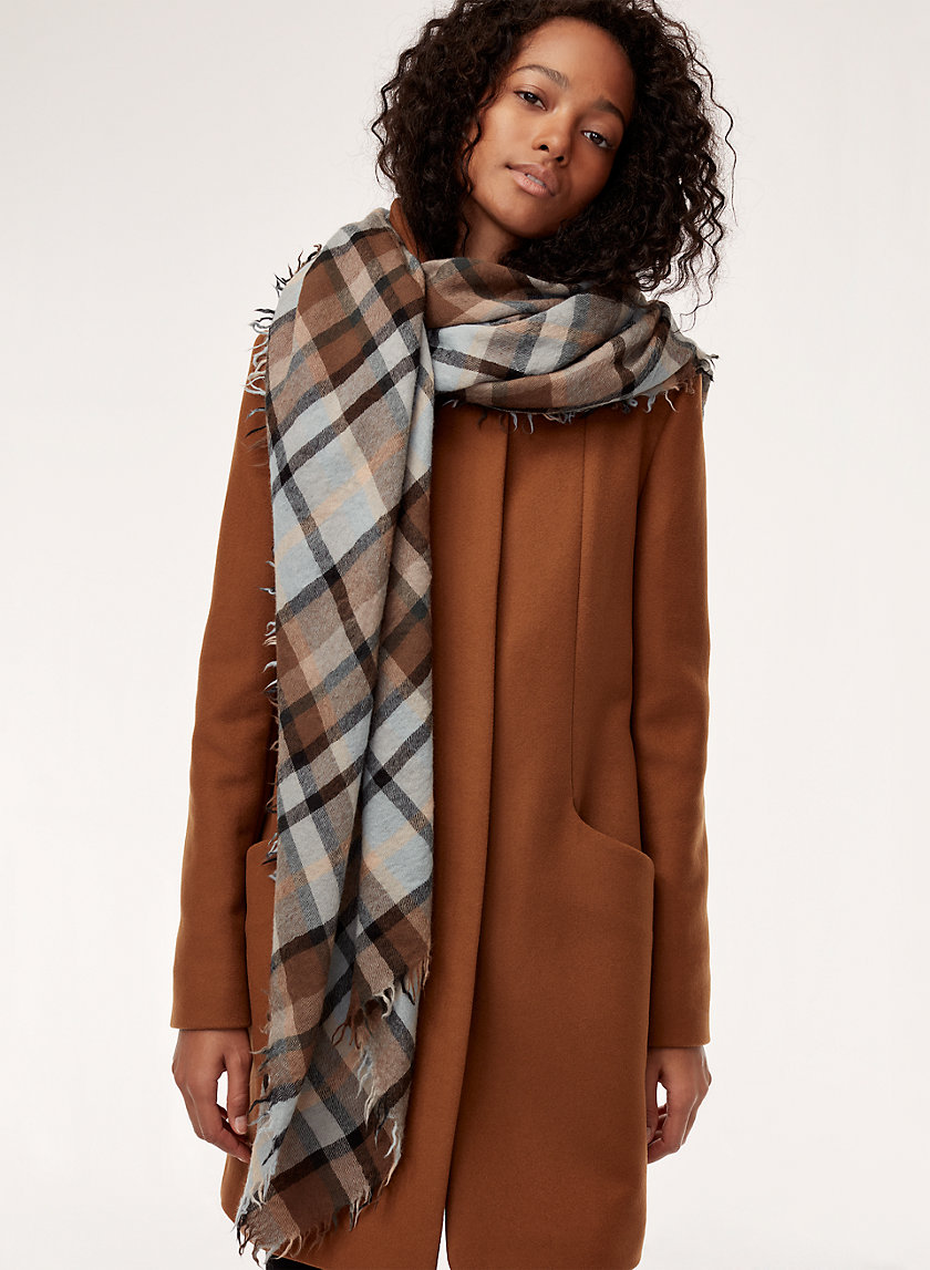 Wilfred PLAID BLANKET | Aritzia