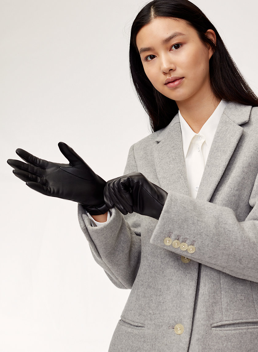 Auxiliary LEATHER GLOVE | Aritzia