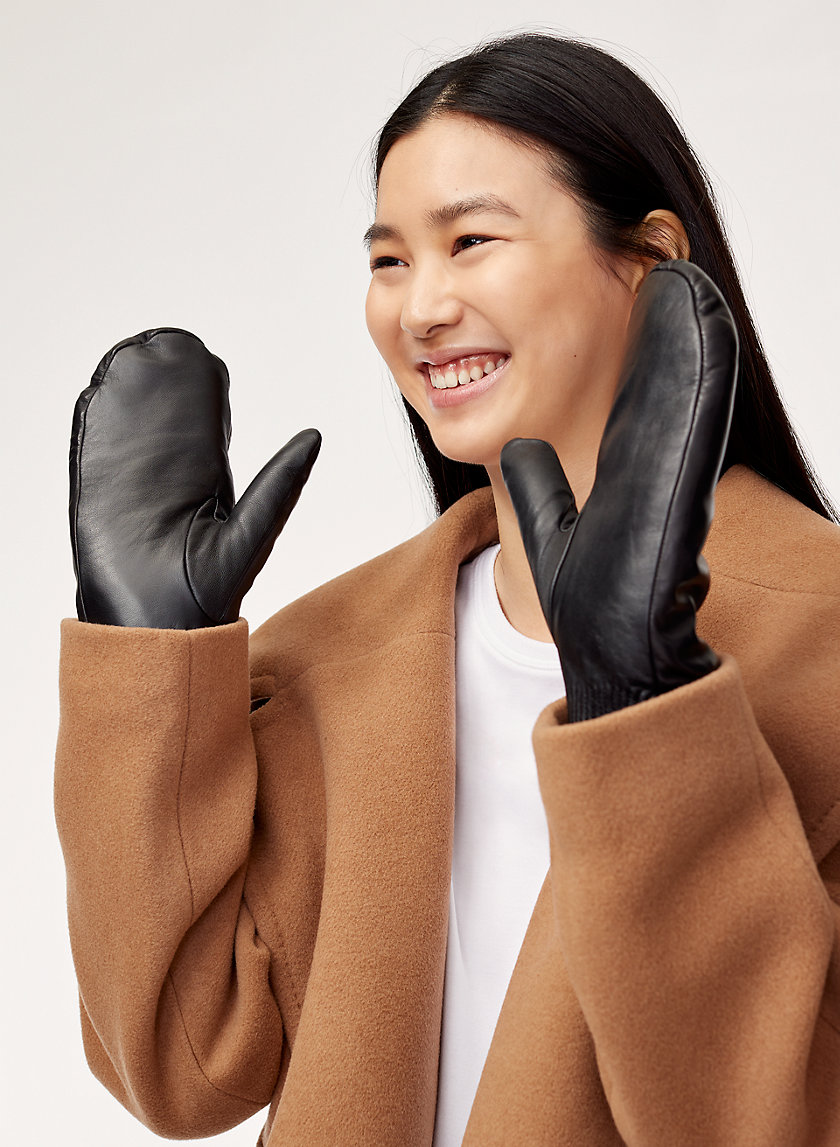 Auxiliary LEATHER MITTENS | Aritzia