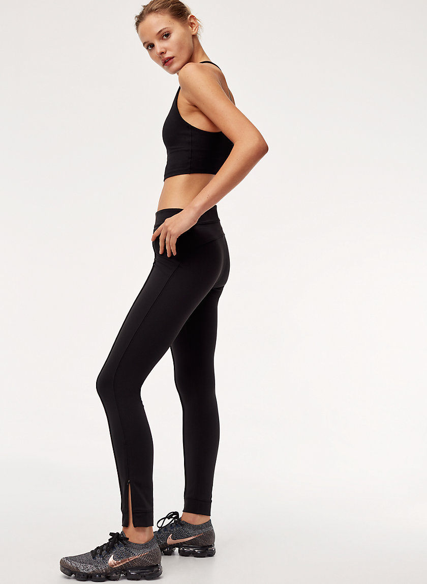 LAYLA JOGGER - Workout joggers with ankle zips