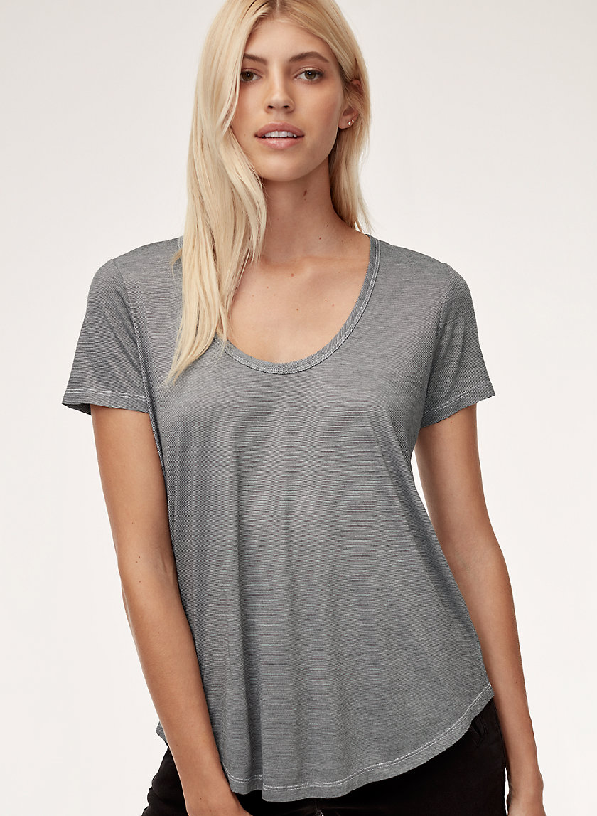 VALMERE T-SHIRT - Scoop neck t-shirt