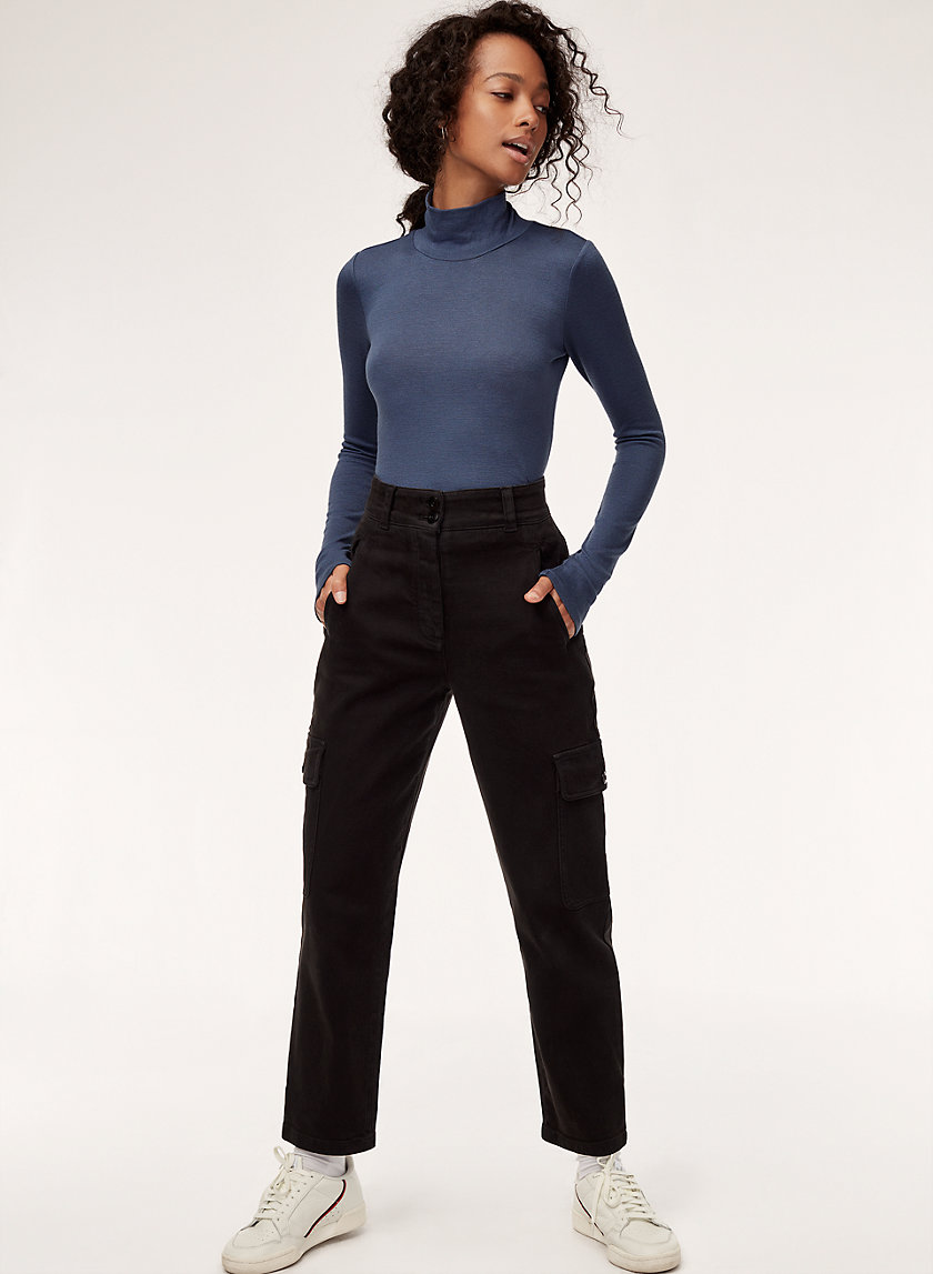 ANTONIA T-SHIRT - Long-sleeve, turtleneck t-shirt