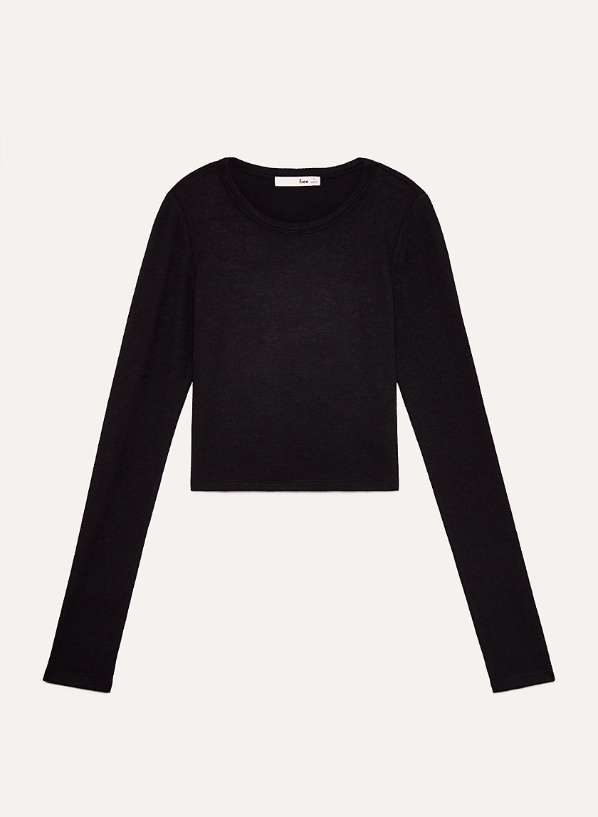 WINBERG LONGSLEEVE - Cropped, long-sleeve t-shirt