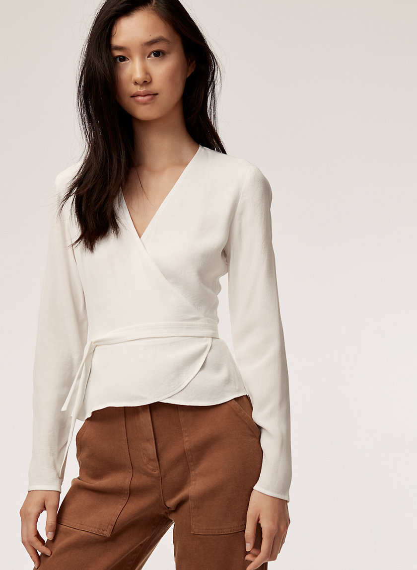 Wilfred Free SHANNON BLOUSE | Aritzia