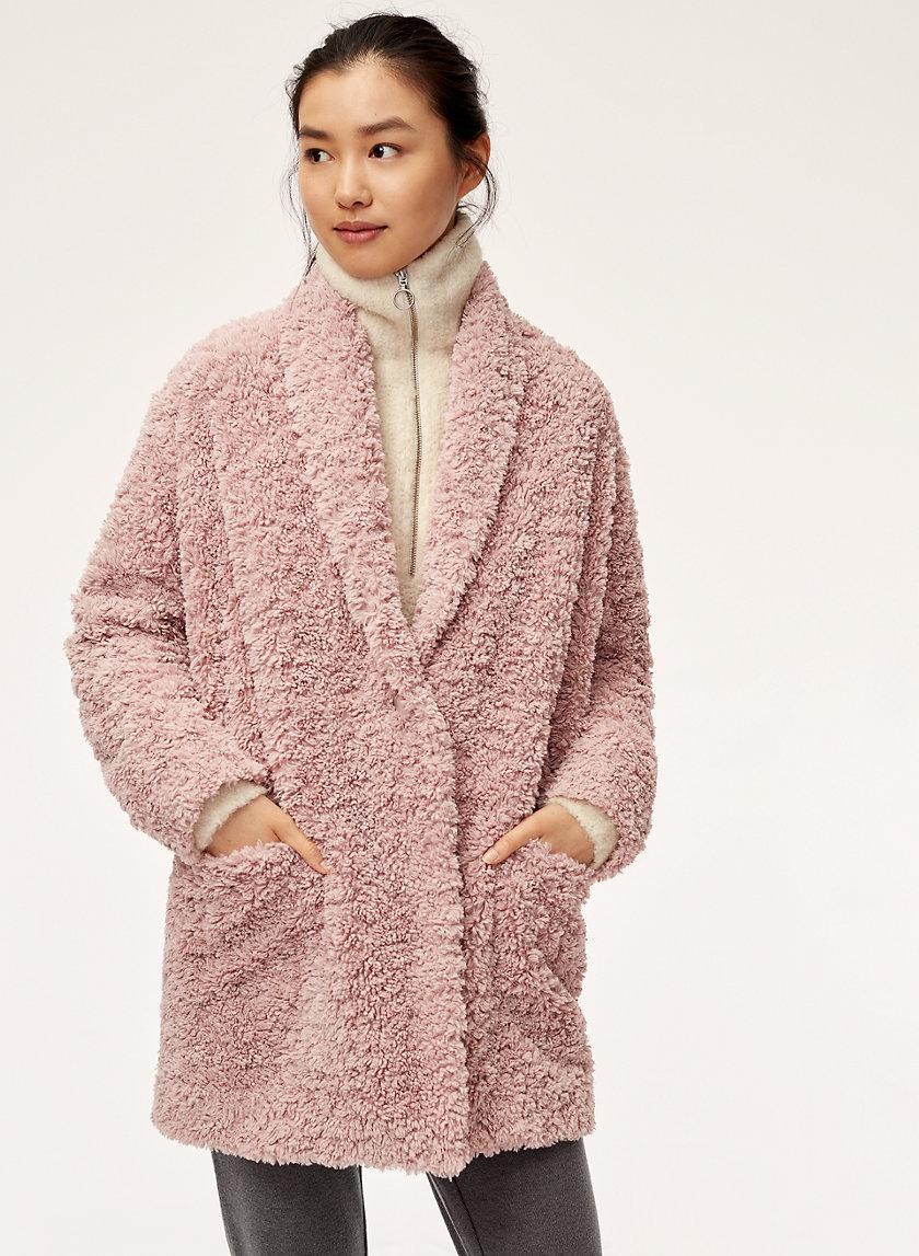 PLUSH JACKET - Cozy plush jacket