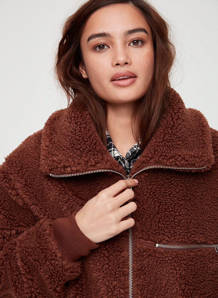 Wilfred Free THE  TEDDY JACKET | Aritzia