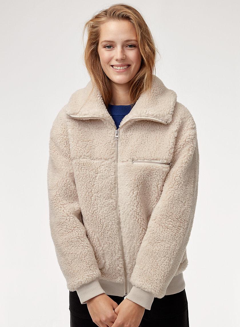 THE  TEDDY JACKET - Zip-up sherpa jacket