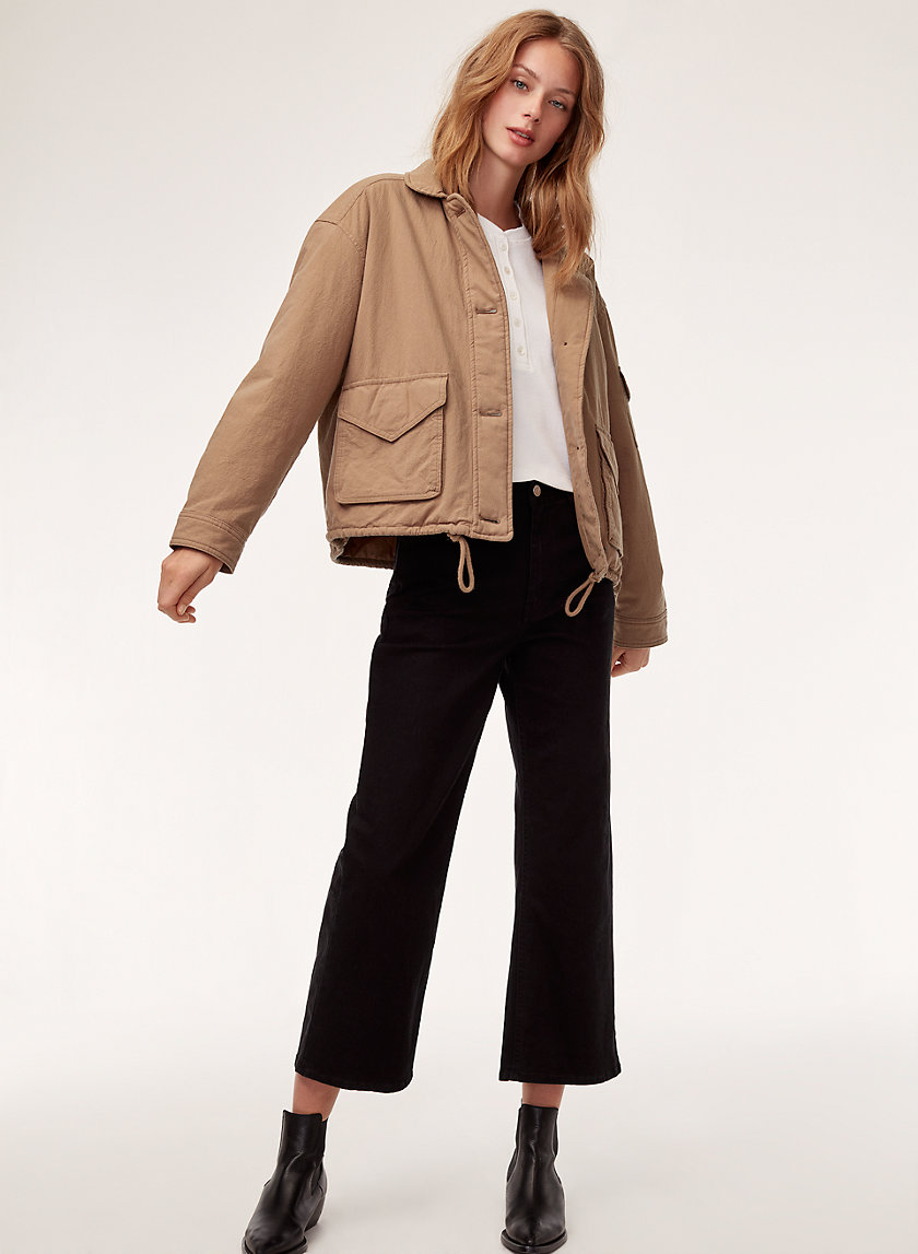 ALYONA JACKET - Structured utilitarian jacket