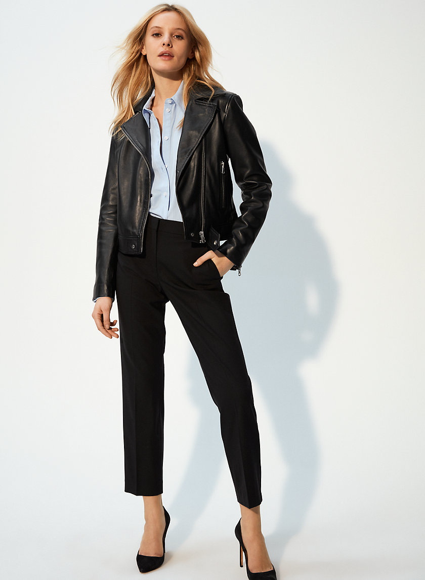Wilfred Free HENDRIX LEATHER BIKER | Aritzia