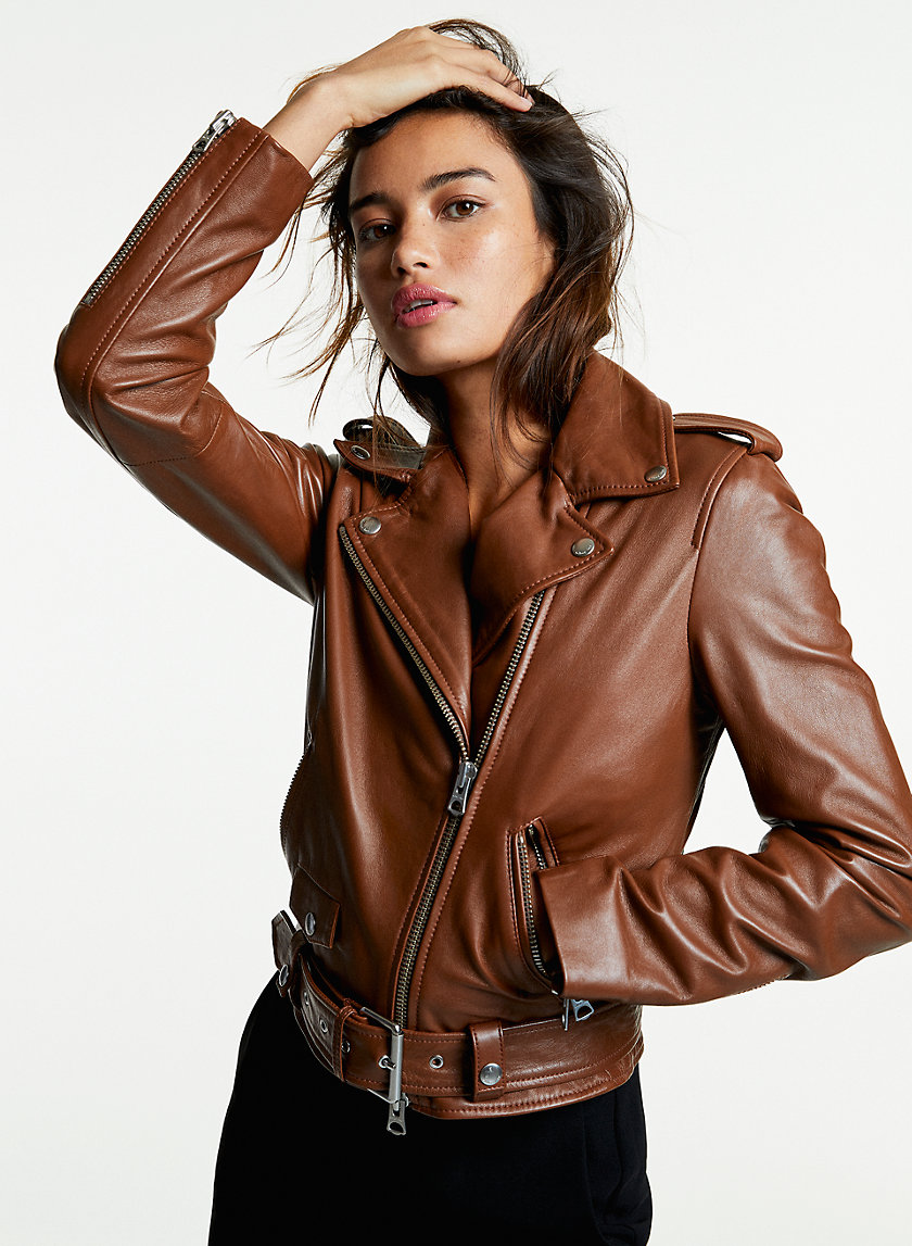 571c0044c Leather Jackets for Women | Aritzia CA