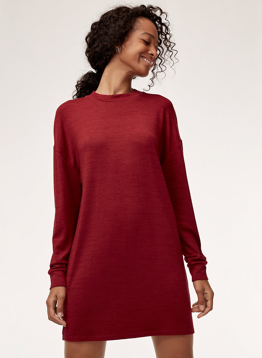 VERNA DRESS - Long-sleeve jersey dress