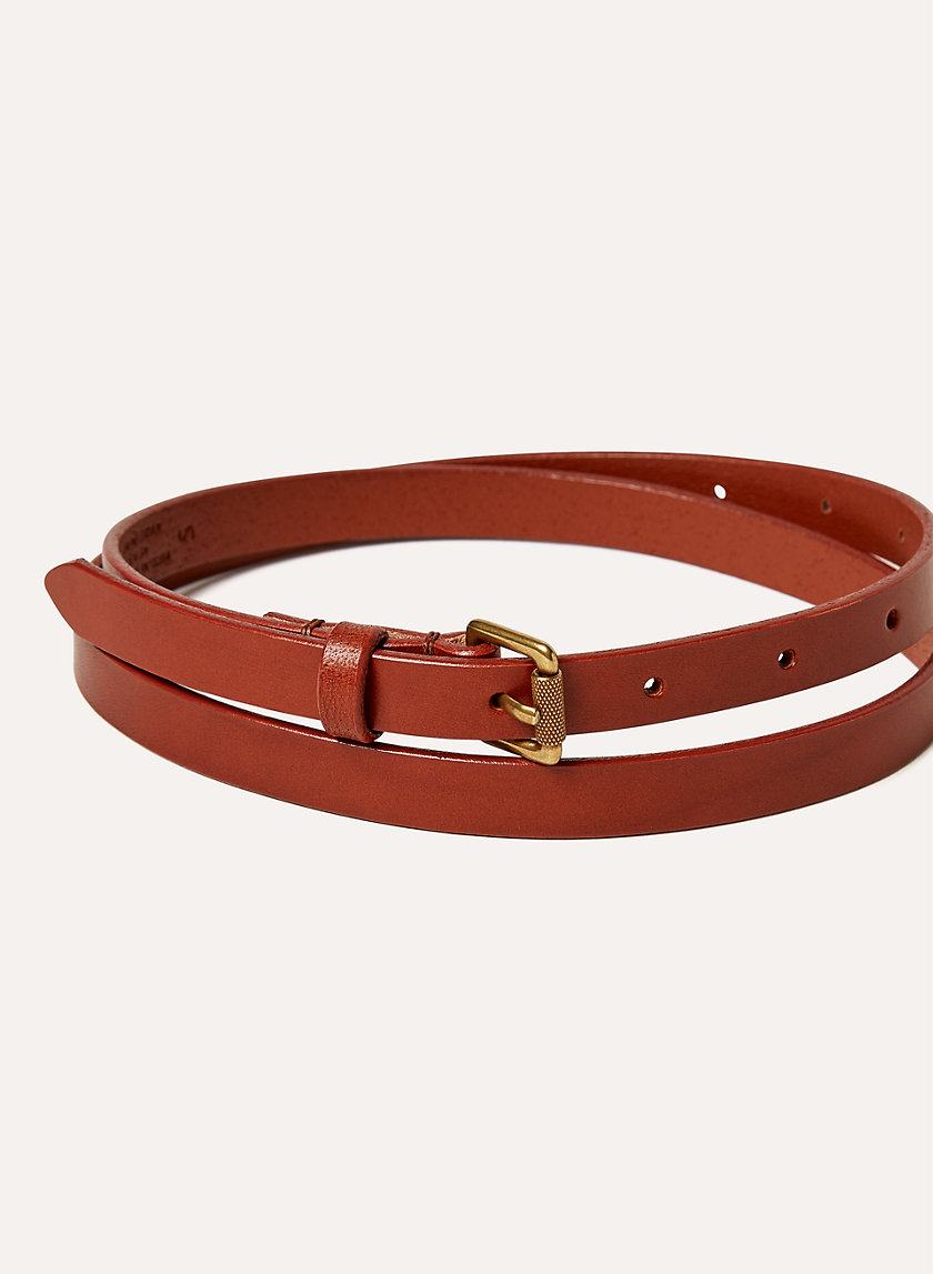 Wilfred Free SKINNY LEATHER BELT | Aritzia