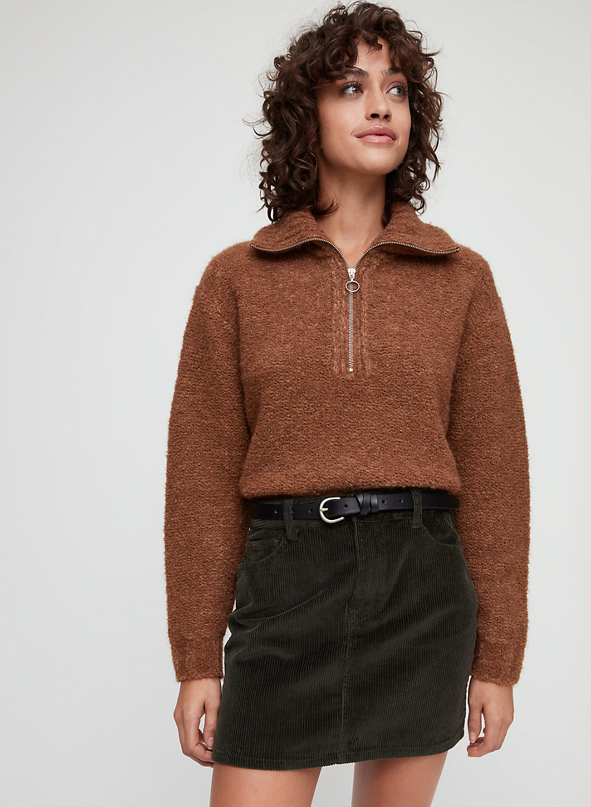 Wilfred Free CROSSOVER LEATHER BELT | Aritzia