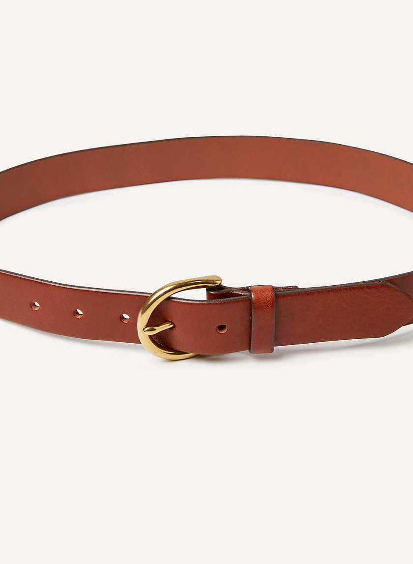 Wilfred Free CLASSIC LEATHER BELT | Aritzia