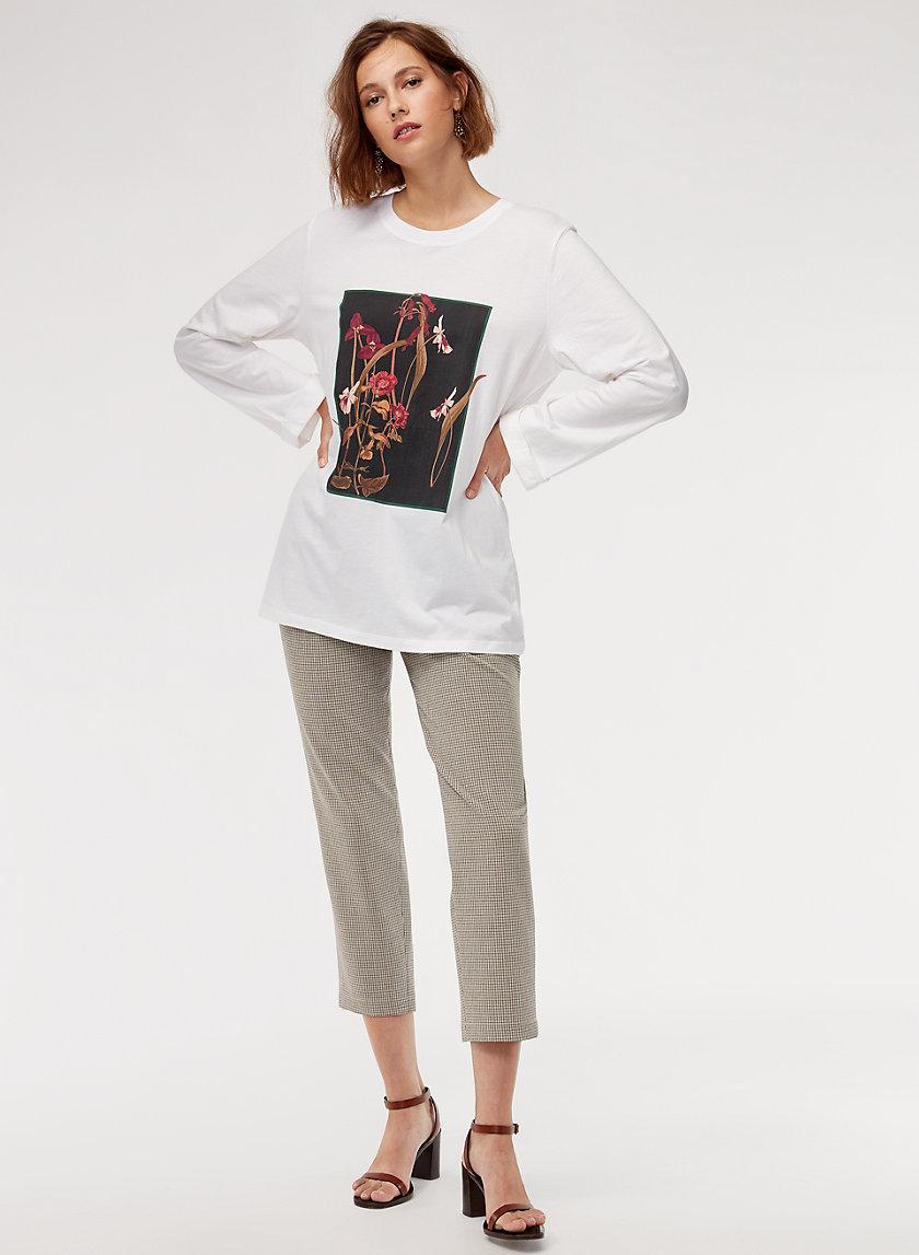 ASTER LONGSLEEVE - Long-sleeve, printed t-shirt