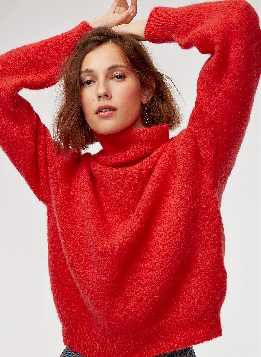 HOLLY TURTLENECK - Alpaca-blend turtleneck sweater