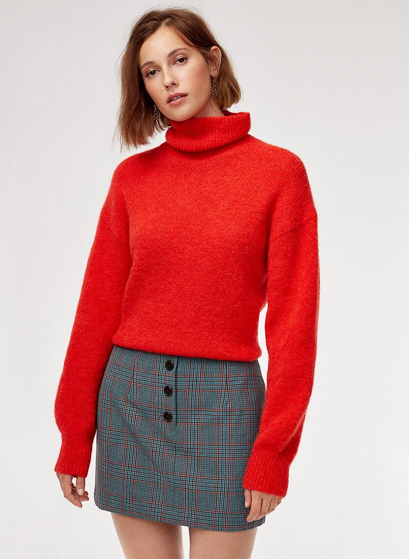 DAYLILY SKIRT - Plaid mini skirt