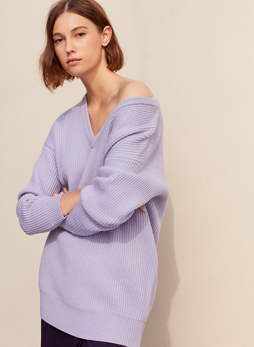 1-01 Babaton UNWERTH SWEATER | Aritzia