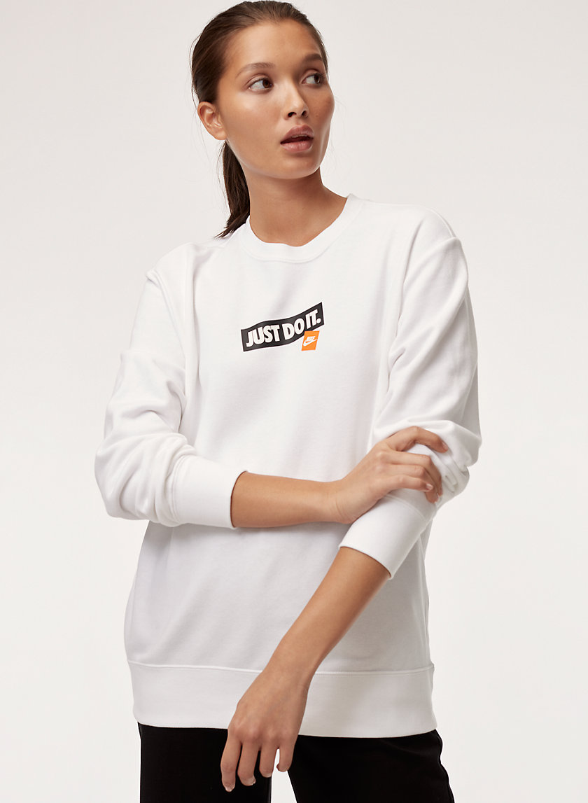 Nike JUST DO IT CREW | Aritzia