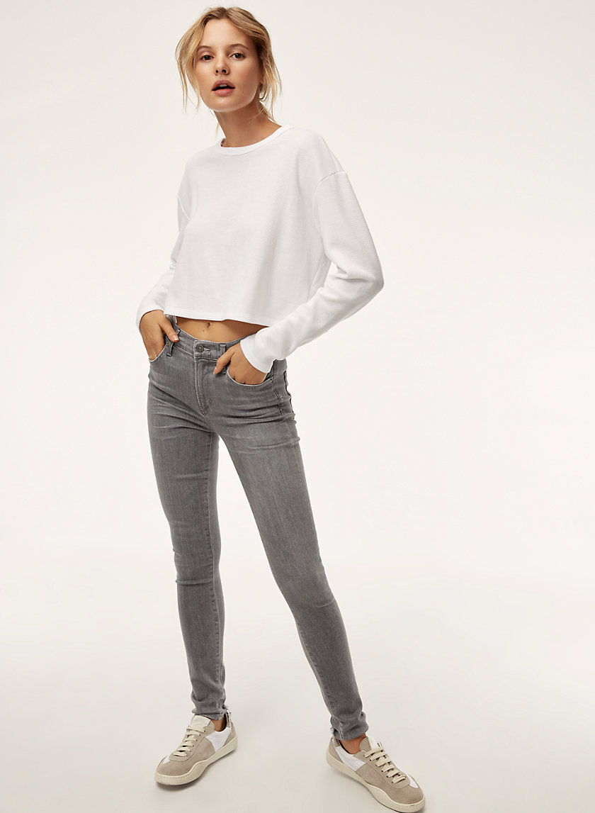 ROCKET STATUETTE - High-waisted skinny jean