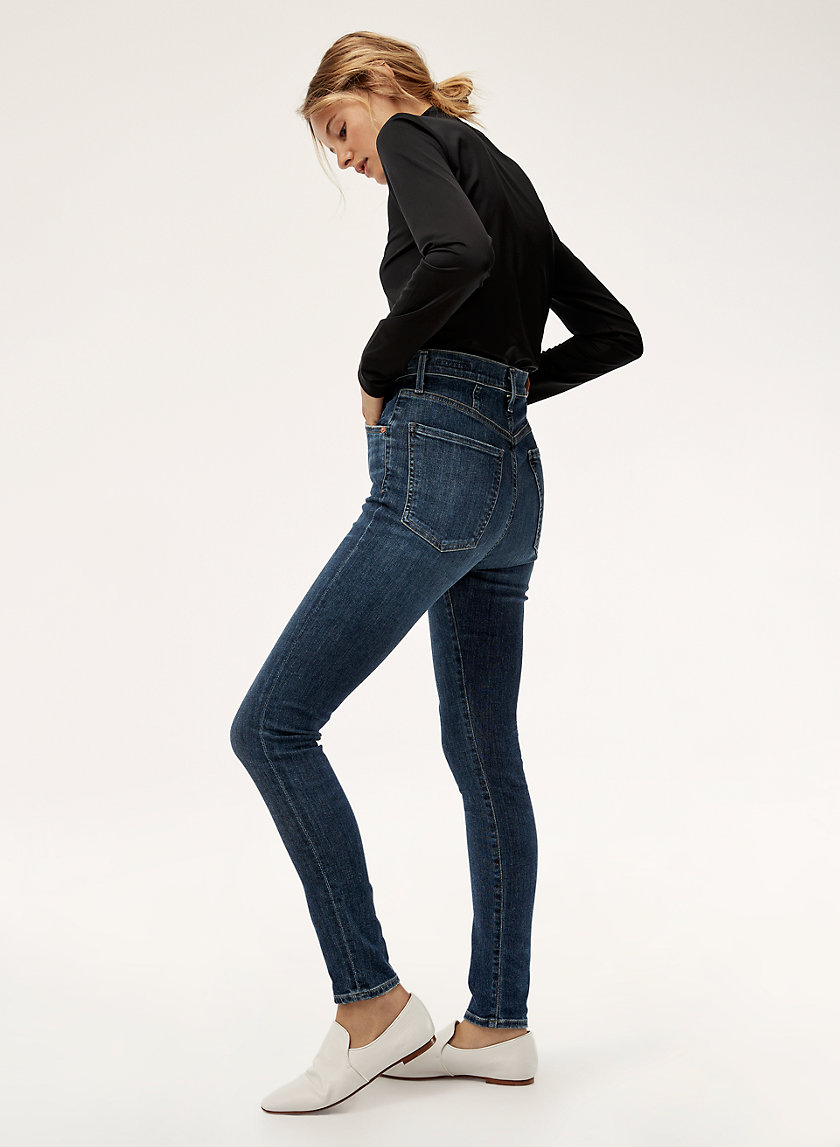 CHRISSY CARMEL - High-waisted skinny jean