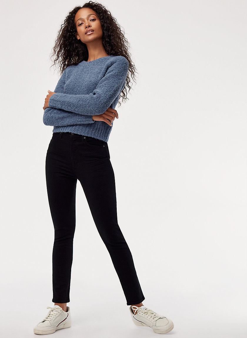 OLIVIA BLACK - High-waisted, skinny jean