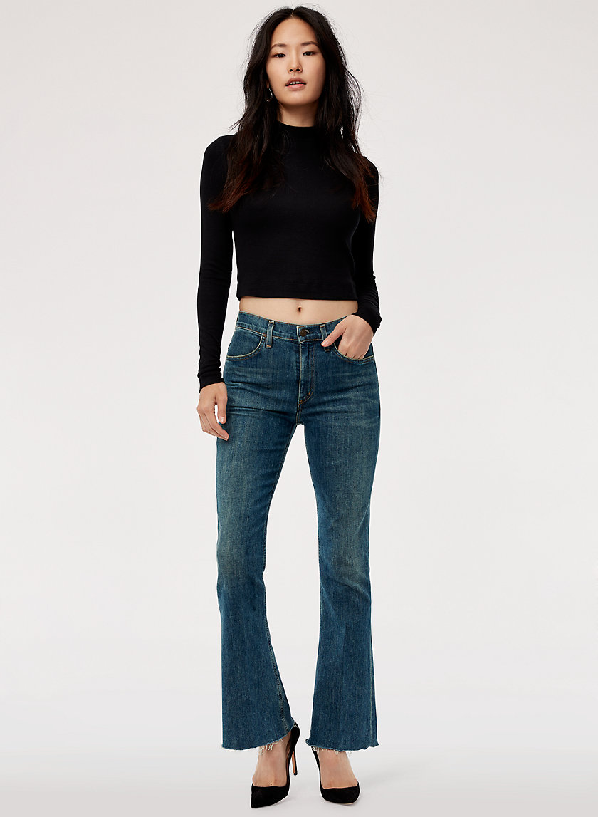 KAYA VENTURE - High-waisted, kick-flare jean