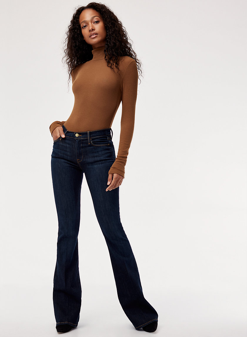 LE HIGH FLARE SUTHERLA - High-waisted, flared jean
