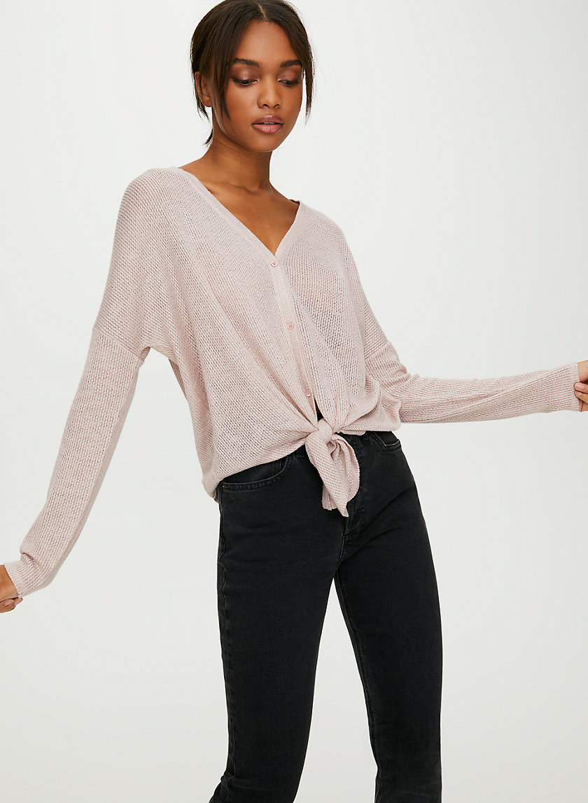GEORGINA LONGSLEEVE - Button-up convertible longsleeve