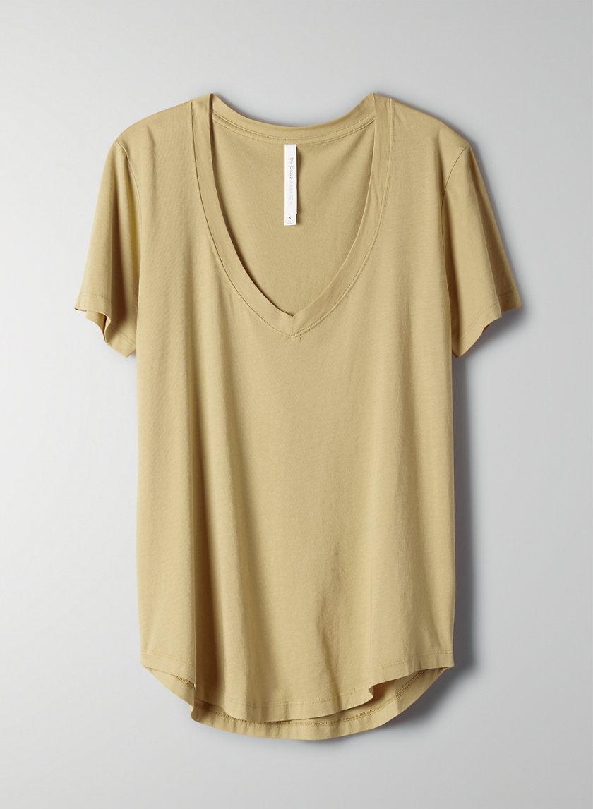 FOUNDATION V-NECK - Cotton, V-neck t-shirt