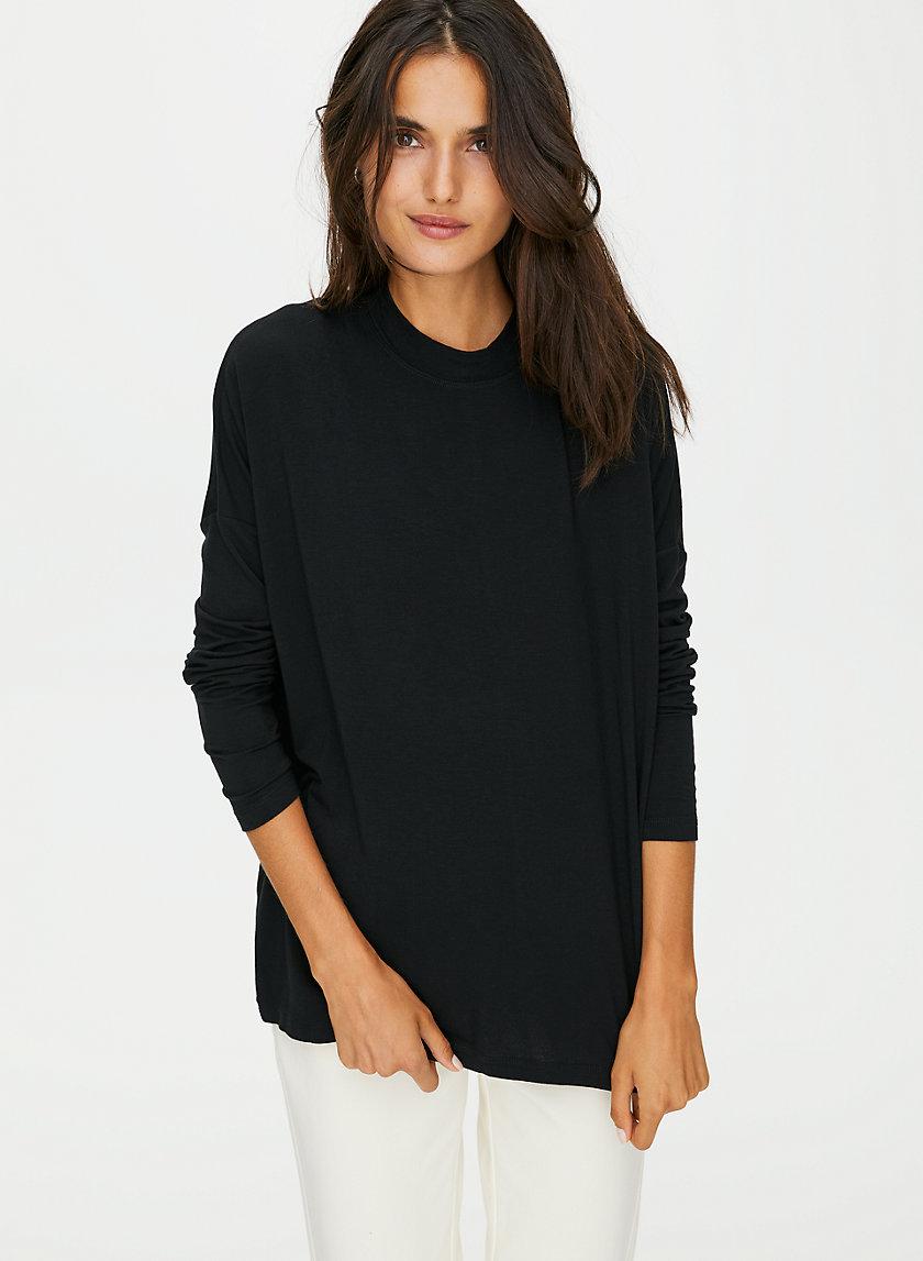 THERMALUXE MOCKNECK - Long-sleeve, mock-neck t-shirt