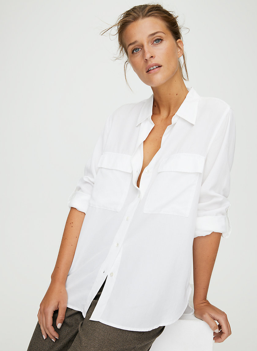 UTILITY BUTTON-UP - Button-up shirt