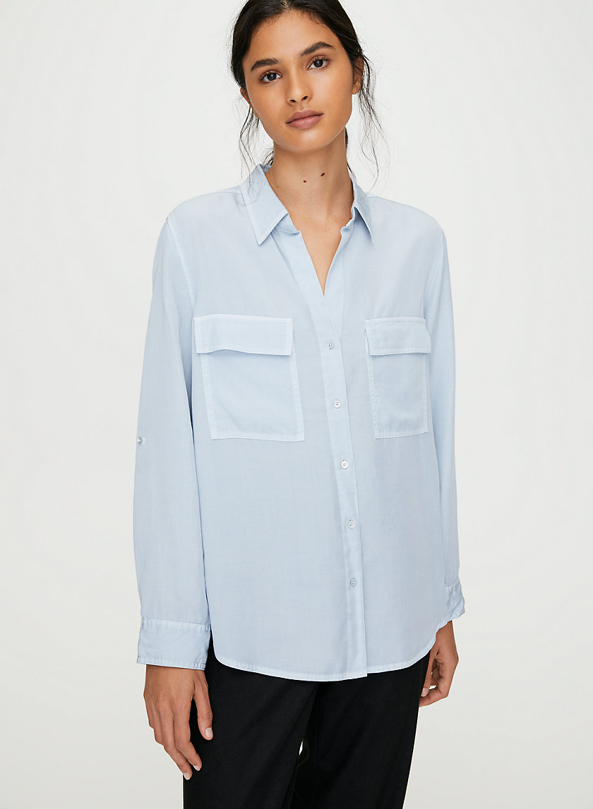 UTILITY BUTTON-UP - Button-up shirt