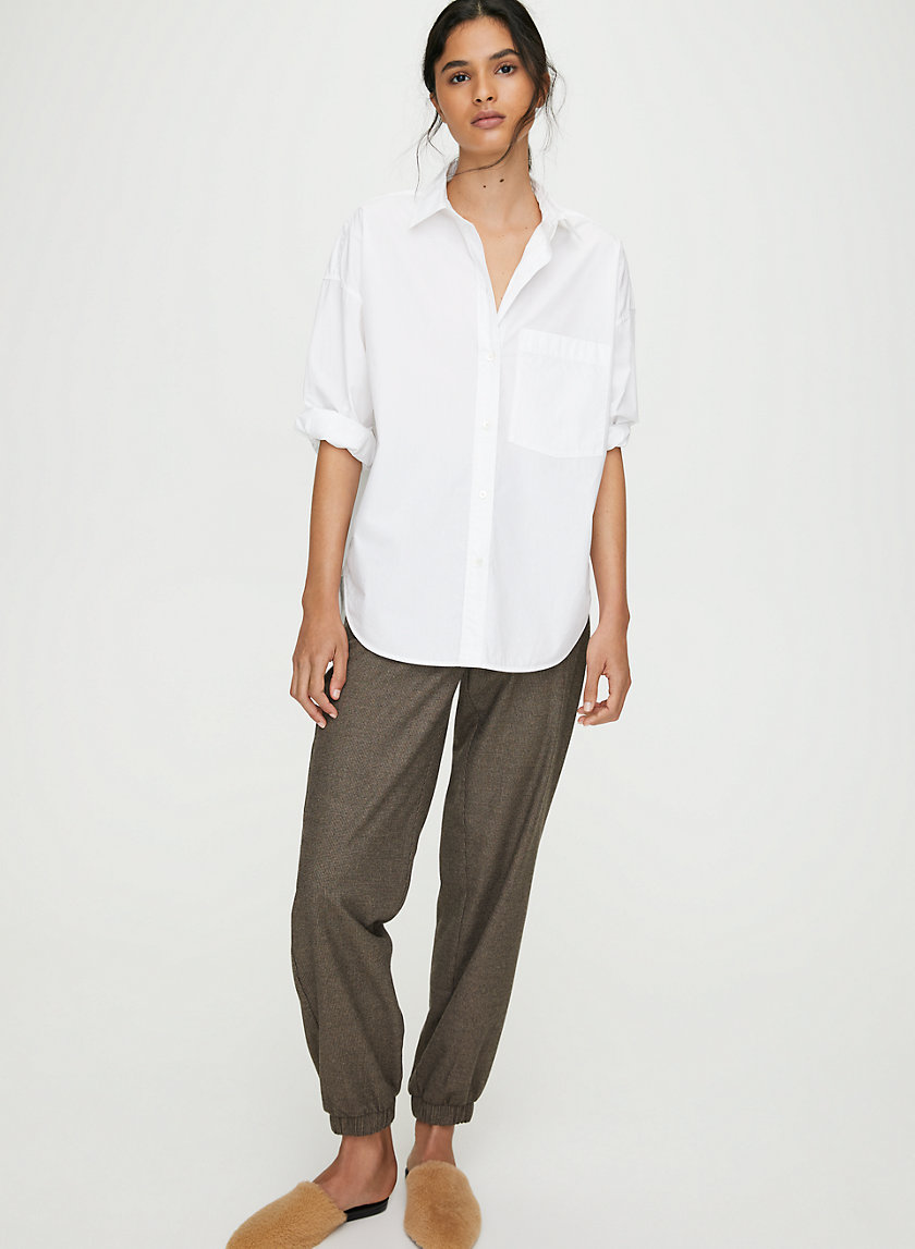 BROOKE BUTTON-UP - Relaxed button-up shirt