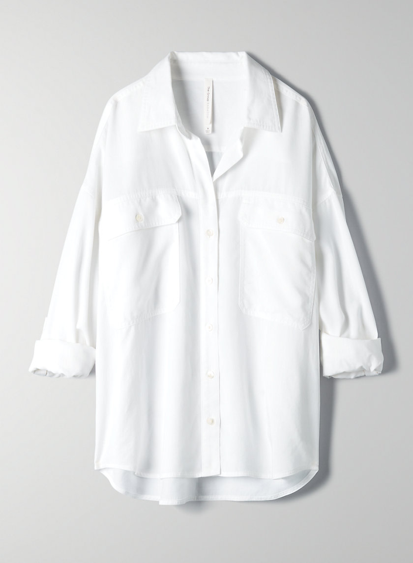 RAYNE SHIRT - Oversized button-up shirt