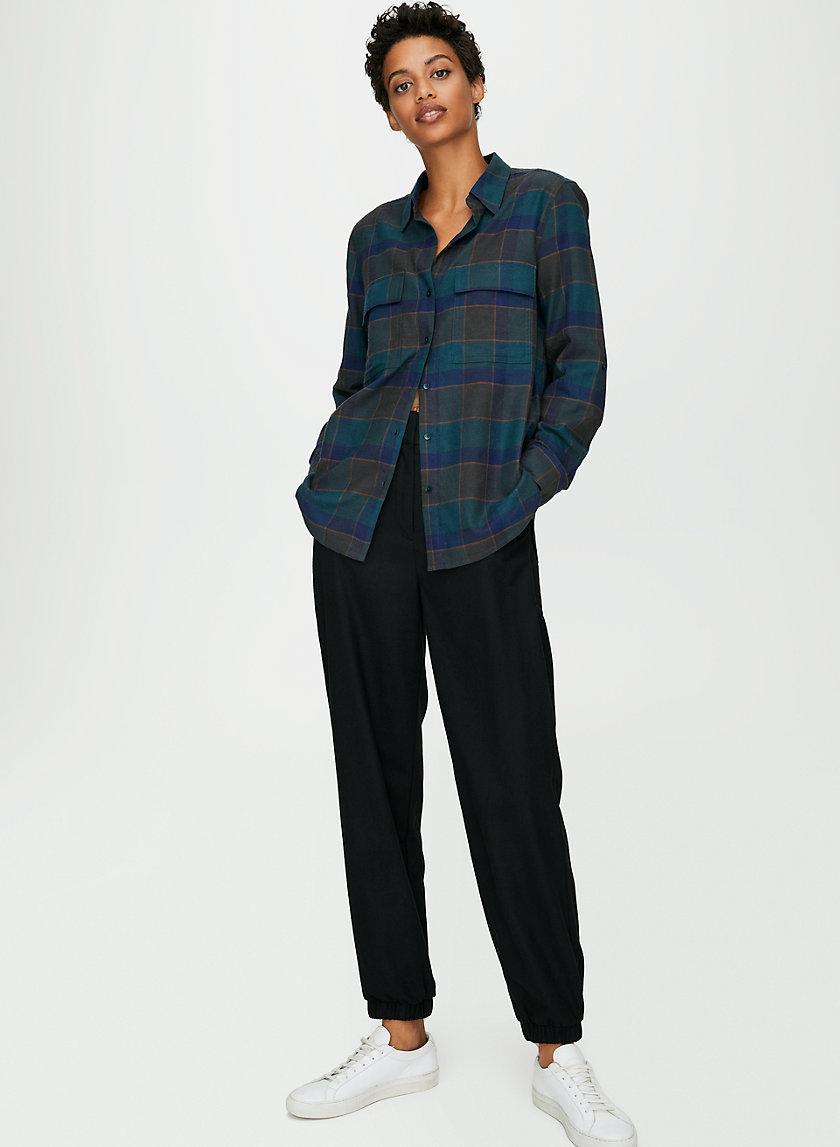 UTILITY BUTTON-UP - Button-down shirt