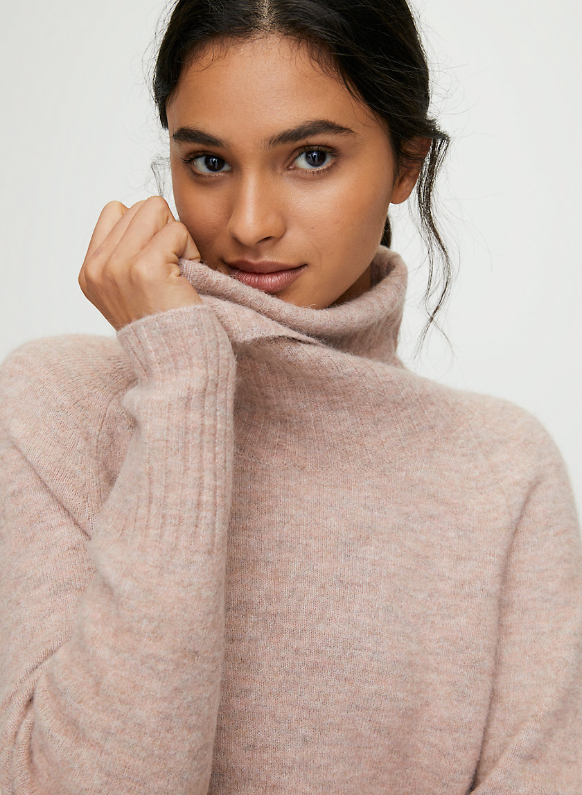 PLUTARCH SWEATER - Alpaca-blend turtleneck sweater
